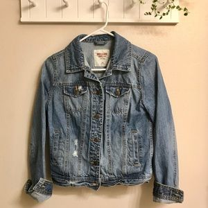 Mossimo - Lightly Distressed Jean Jacket